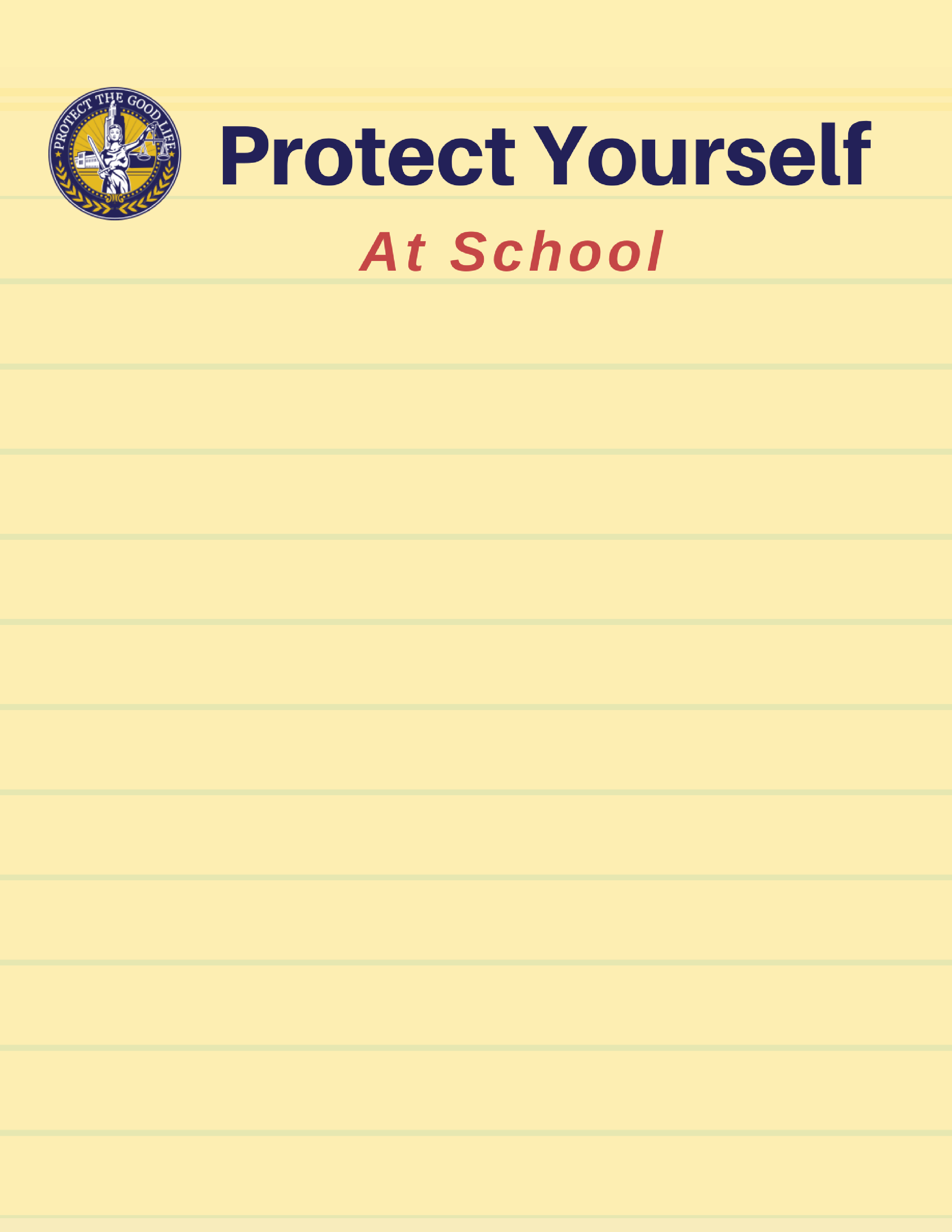 Protect Yourself Background Image