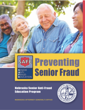 preventing senior fraud brochure cover