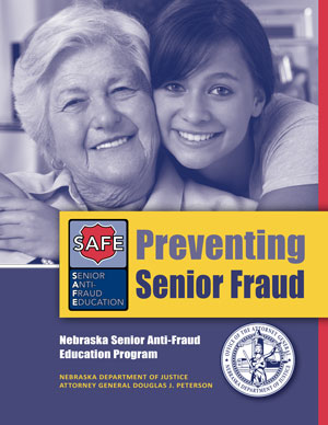 Prevent Senior Fraud Brochure cover