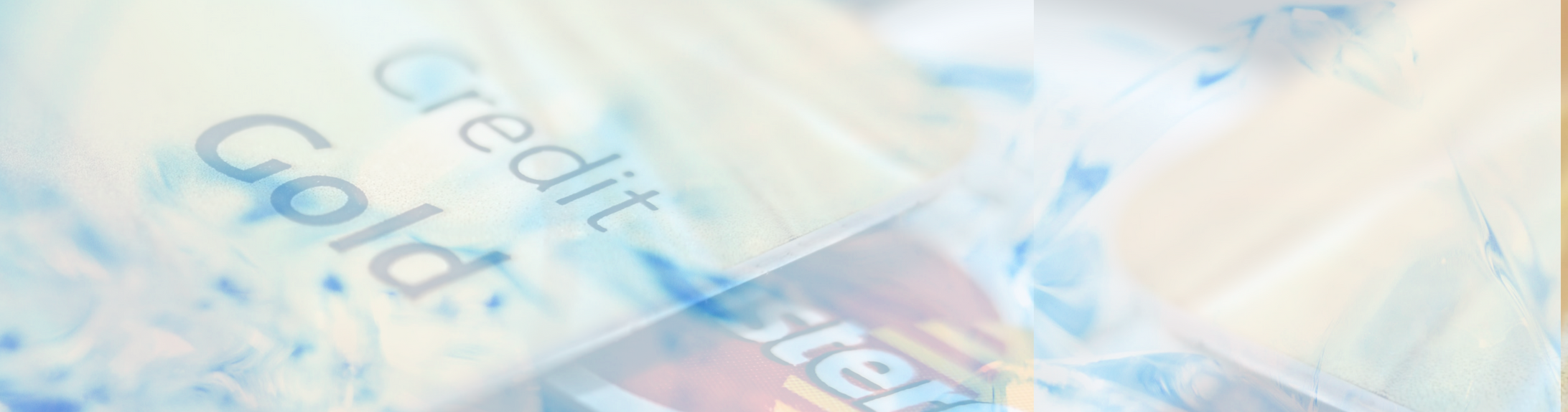Image of Credit Cards & Ice